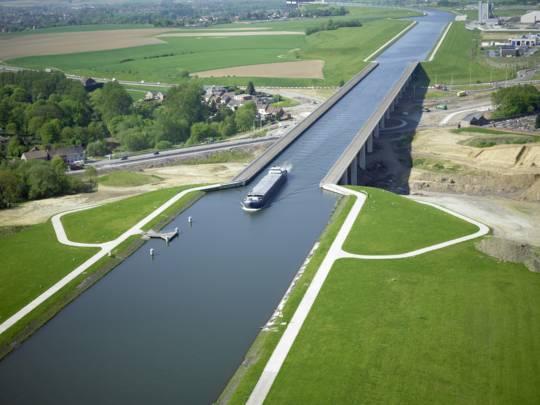 Le pont-canal du Sart, un