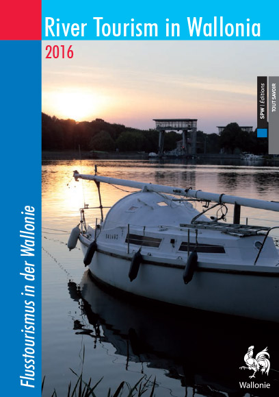 tourisme fluvial Wallonie brochure 2016 version anglais allemand