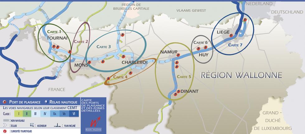 Carte Belgique Dinant Environs.Direction Generale Operationnelle De La Mobilite Et Des